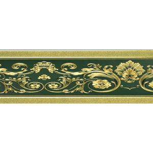 TAPET PVC GOLD OPULENCE BORDER GB096807 17.6X500 (0.88 mp/rola)